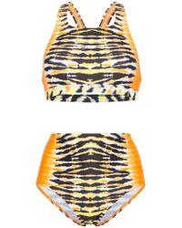 House of Holland - X Speedo Tie-dye Bikini - Lyst