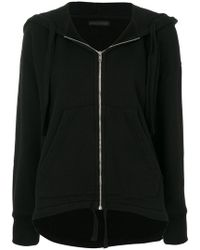 Citizens of Humanity | Zipped Trapeze Hem Hoodie | Lyst
