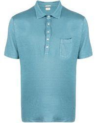 Massimo Alba チェストポケット ポロシャツ - ブルー