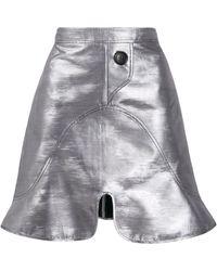 Ellery スカラップ スカート - グレー