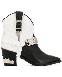 Toga Pulla - Harness Texan Boots - Lyst