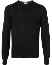 Ferragamo Ribbed Knit Sweater - Blue