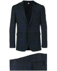 Burberry - Slim-fit Check Suit - Lyst