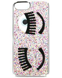 Chiara Ferragni - Flirting Glitter Iphone Case - Lyst