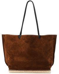 Altuzarra Large Espadrille Tote Bag - Brown