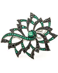 Stephen Webster - Diamond Flower Ring - Lyst