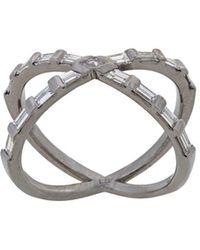 Eva Fehren Tetra Shorty Ring - Metallic
