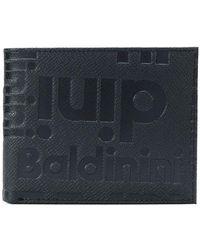 Baldinini Embossed Wallet - Black