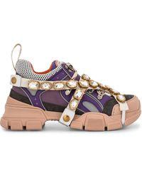Gucci Flashtrek chunky sneakers - Multicolore