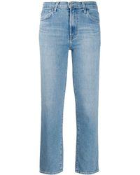 J Brand Denim Jeans Met Faded Effect - Blauw