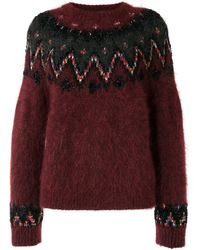 Coohem Fair Isle Textured Sweater
