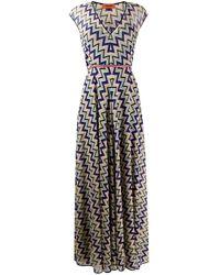 Missoni - ジグザグプリント ドレス - Lyst