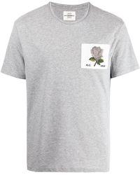 Kent & Curwen ロゴパッチ Tシャツ - グレー