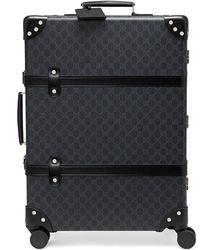 Gucci X Globe-trotter GG スーツケース - ブラック