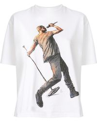ih nom uh nit Kanye West Print T-shirt - White