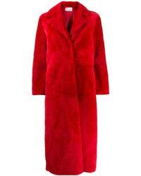 RED Valentino - オーバーサイズ ミディコート - Lyst