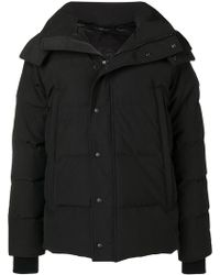 Canada Goose - Hooded Padded Coat - Lyst