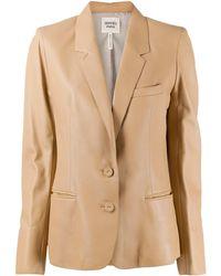 Hermès Блейзер С Заостренными Лацканами - Многоцветный
