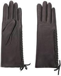 Agnelle レースディテール 手袋 - マルチカラー