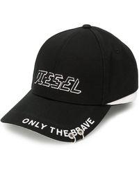 DIESEL - ロゴ キャップ - Lyst