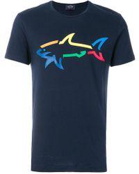 Paul & Shark | Printed T-shirt | Lyst