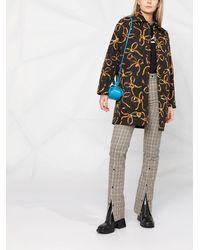 Boutique Moschino キルティングジャケット - ブラック