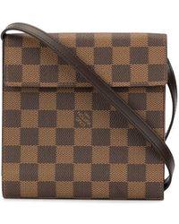 Louis Vuitton プレオウンド Japan 20th Anniversary ダミエ Cd ケース - ブラウン