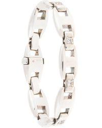 Hermès 1980s 'Cassiopée MM' Armband - Mettallic