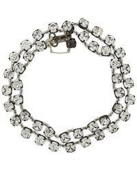 Ann Demeulemeester - Beaded Bracelet - Lyst