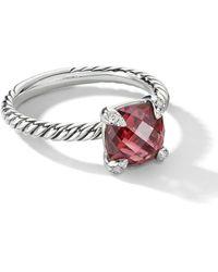 David Yurman Bague Châtelaine à diamants - Métallisé