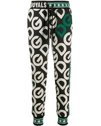 Dolce & Gabbana - モノグラム トラックパンツ - Lyst