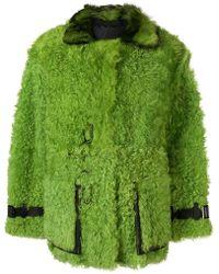 Tom Ford - Oversized Shearing Coat - Lyst