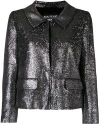 Boutique Moschino - Sequin Embellished Jacket - Lyst