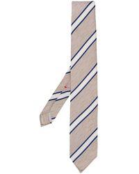 Dell'Oglio Cravatta a righe - Multicolore