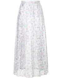 Christopher Kane - Washing Up Liquid Lace Pleated Skirt - Lyst