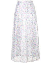 Christopher Kane - Washing Up Liquid Lace Pleated Skirt - Lyst