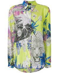 Just Cavalli | Floral Shirt | Lyst