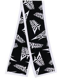 Givenchy Sciarpa con logo - Nero