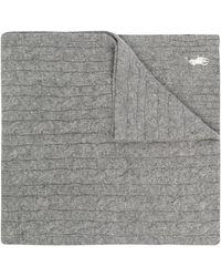 Polo Ralph Lauren ケーブルニット スカーフ - グレー