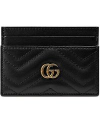 Gucci - GG Marmont カードケース - Lyst