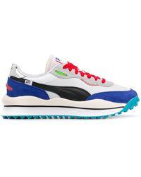 PUMA Sneakers Met Vlakken - Wit