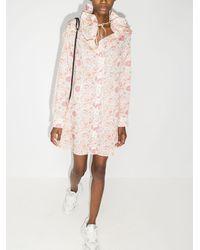 Y. Project - Hemdkleid mit Blumen-Print - Lyst