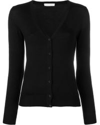 Cruciani - V-neck Fitted Cardigan - Lyst