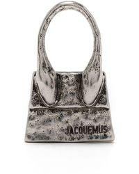 Jacquemus Серьга Le Chiquito Bag - Металлик
