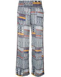 lemlem Aztec Palazzo Trousers - Multicolour