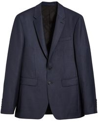 Burberry - Slim Fit Travel Tailoring Three-piece Suit - Lyst