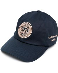 Paura Logo Embroidered Baseball Cap - Blue
