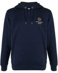 Societe Anonyme Hooded Logo Sweatshirt - Blue