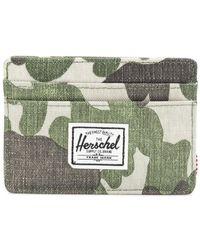 Herschel Supply Co. - Camouflage Print Cardholder - Lyst