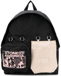 "Eastpak Rucksack mit ""Stone(d) America""-Print - Schwarz"